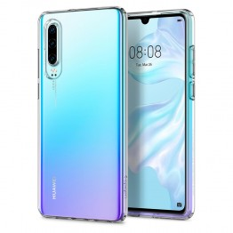 Huawei P30 Coque Spigen LIQUIDCRYSTAL Transparent