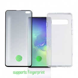 Galaxy S10+ Pack 4Smarts PROTECTION360 FULL Noir