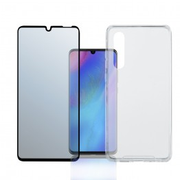 Huawei P30 Pack 4Smarts PROTECTION360 FULL Noir