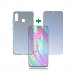 Galaxy A40 Pack 4Smarts PROTECTION360 Transparent