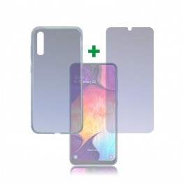 Galaxy A50 Pack 4Smarts PROTECTION360 Transparent