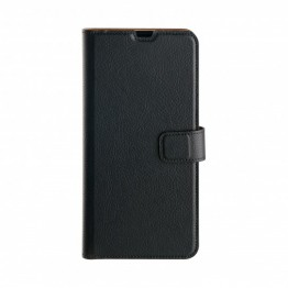 Galaxy A40 Etui Wallet Selection Xqisit Noir