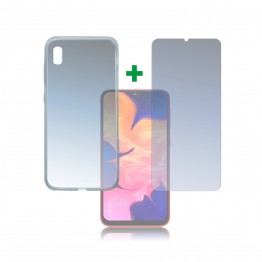 Galaxy A10 Pack 4Smarts PROTECTION360 Transparent