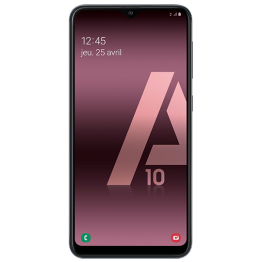 Galaxy A10 RECTO MATTE Film Silicone Mobile Outfitters Clear Coat