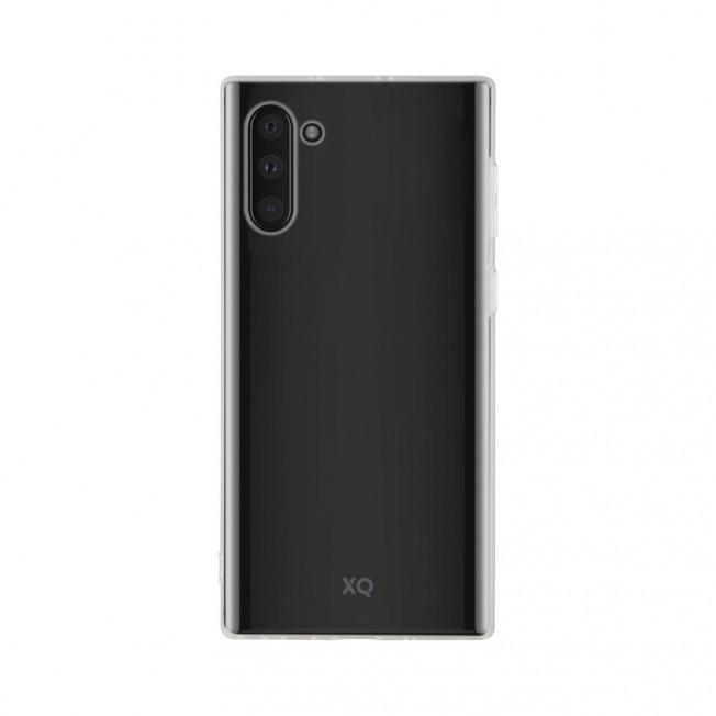 Galaxy N10 Coque Silicone Xqisit FLEXCASE Transparent