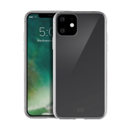 iPhone XR 2019 Coque Silicone Xqisit FLEXCASE Transparent