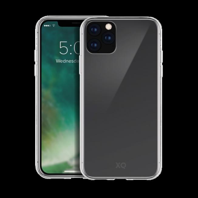 iPhone XS MAX 2019 Coque Silicone Xqisit FLEXCASE Transparent