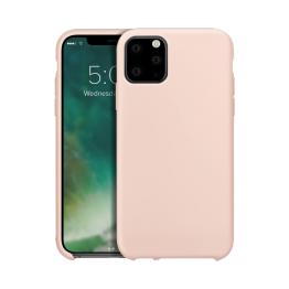 iPhone XS 2019 Coque Silicone Xqisit SILICASE Beige