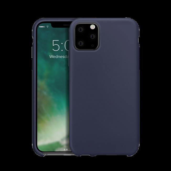 coque silicone iphone xs bleu