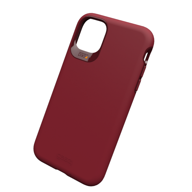 iPhone XI Coque Gear4 D3O HOLBORN Rouge