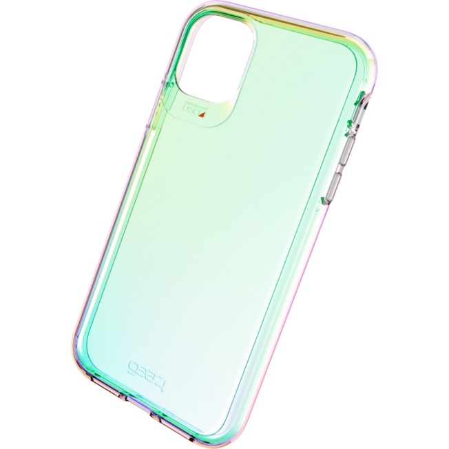 iPhone XI PRO MAX Coque Gear4 D3O CRYSTALPALACE Iridescent