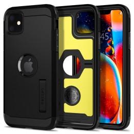 iPhone XI Coque Spigen TOUGHARMOR Noir