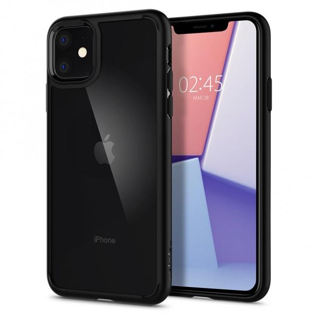 iPhone XI Coque Spigen ULTRAHYBRID Noir