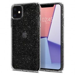 iPhone XI Coque Spigen LIQUIDCRYSTALGLITTER Transparent
