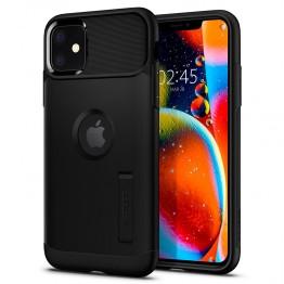 iPhone XI Coque Spigen SLIMARMOR Noir