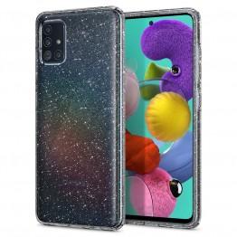 Galaxy A51 Coque Spigen LIQUIDCRYSTALGLITTER Transparent