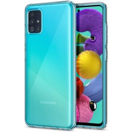 Galaxy A51 Coque Spigen LIQUIDCRYSTAL Transparent
