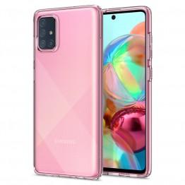 Galaxy A71 Coque Spigen LIQUIDCRYSTAL Transparent