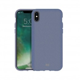 iPhone XR Coque Silicone Xqisit ECOCASE Bleu
