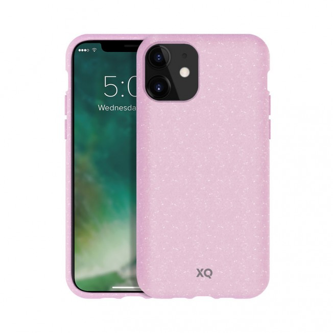 iPhone XI Coque Silicone Xqisit ECOCASE Rose