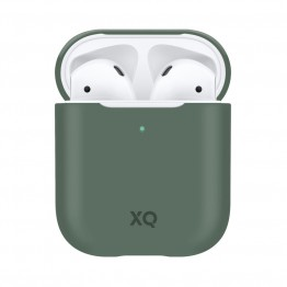 Airpods Coque Silicone Xqisit SILICASE Vert