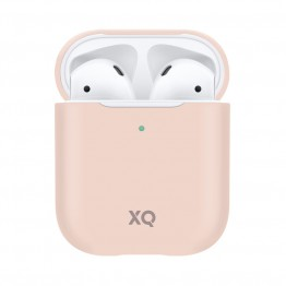 Airpods Coque Silicone Xqisit SILICASE Rose