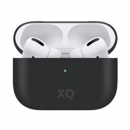Airpods Pro Coque Silicone Xqisit SILICASE Noir