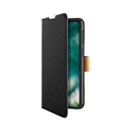 Galaxy A51 Etui Wallet Xqisit XQSELECTION Noir