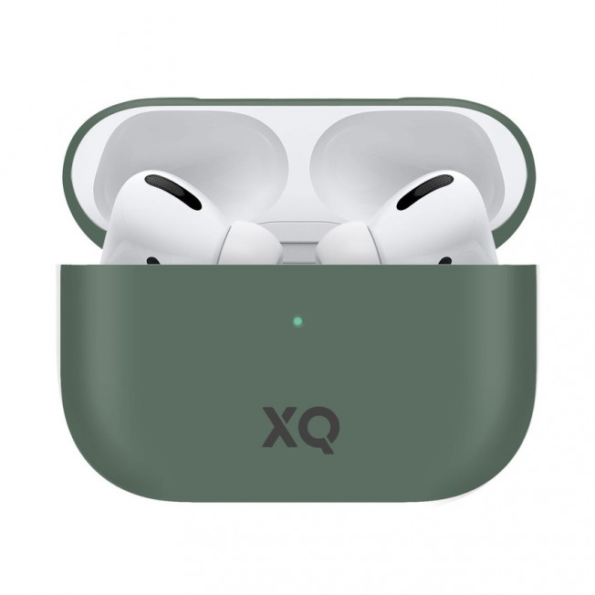 Airpods Pro Coque Silicone Xqisit SILICASE Vert