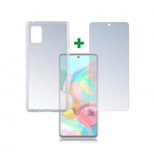 Galaxy A71 Pack 4Smarts PROTECTION360 Transparent