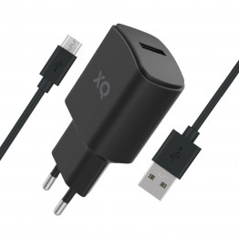 MICRO-USBA Chargeur Home Xqisit XQPOWER 2.4A Noir