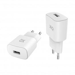 Embout Home Xqisit XQPOWER 2.4A Blanc