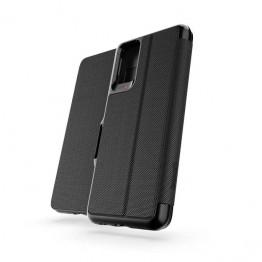 Galaxy S20+ Etui Wallet Gear4 D3O OXFORD Noir