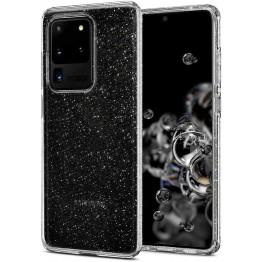 Galaxy S20u Coque Spigen LIQUIDCRYSTALGLITTER Transparent