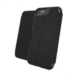 iPhone SE 2020 Etui Wallet Gear4 D3O OXFORD Noir