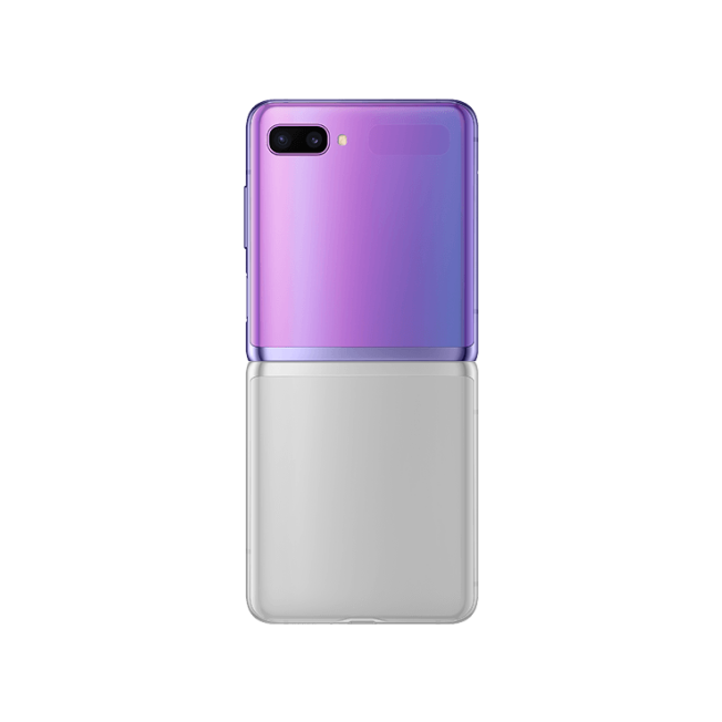 Galaxy Z FLIP RECTO ORIGINAL Film Silicone Mobile Outfitters Clear Coat MOD4R