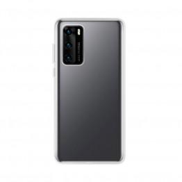 Huawei P40 Pro Coque Silicone Xqisit FLEXCASE Transparent