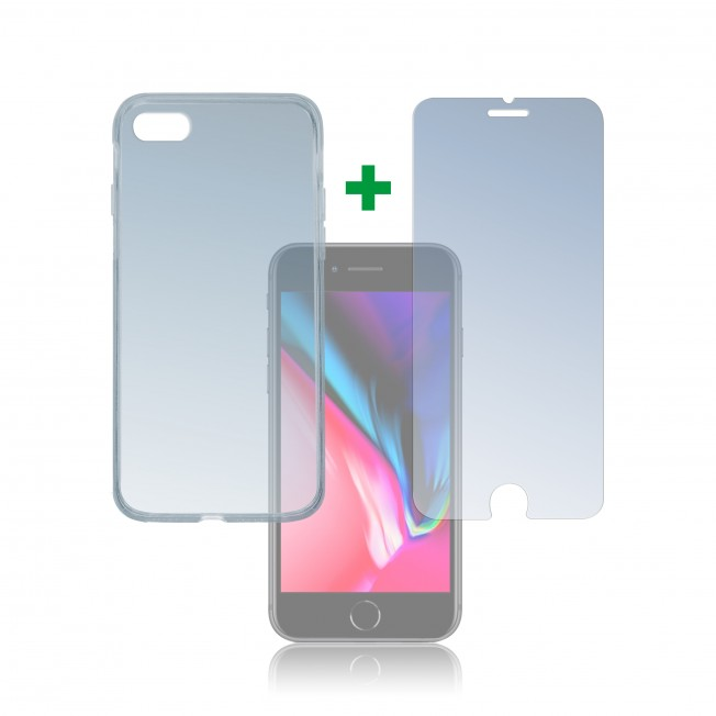 iPhone SE 2020 Pack 4Smarts PROTECTION360 Transparent