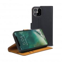 iPhone 12 PRO MAX Etui Wallet Xqisit XQSELECTION Noir