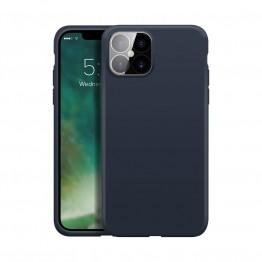 iPhone XS 2019 Coque Silicone Xqisit SILICASE Bleu