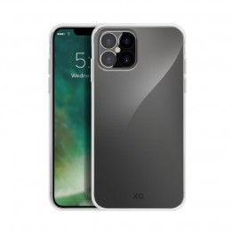 iPhone 12+/PRO Coque Silicone Xqisit FLEXCASE Transparent