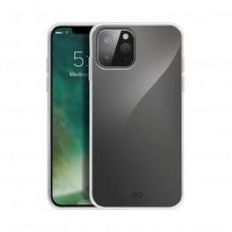 iPhone 12 Coque Silicone Xqisit FLEXCASE Transparent
