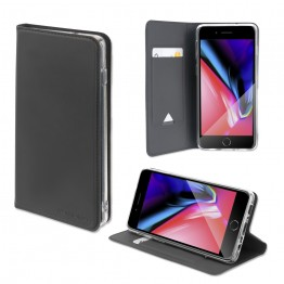 iPhone SE 2020/8/7 Etui Wallet 4Smarts URBANLITE Noir
