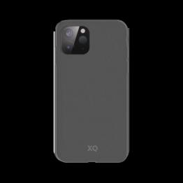 iPhone 12 MINI Coque Silicone Xqisit ECOCASE Gris