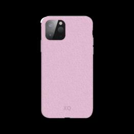 iPhone 12 MINI Coque Silicone Xqisit ECOCASE Rose