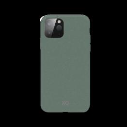 iPhone 12 MINI Coque Silicone Xqisit ECOCASE Vert