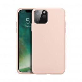 iPhone 12 MINI Coque Silicone Xqisit SILICASE Rose