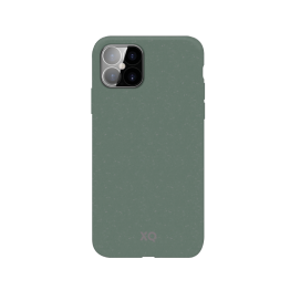 iPhone 12 PRO MAX Coque Silicone Xqisit ECOCASE Vert