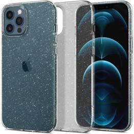 iPhone 12 PRO MAX Coque Spigen LIQUIDCRYSTALGLITTER Transparent