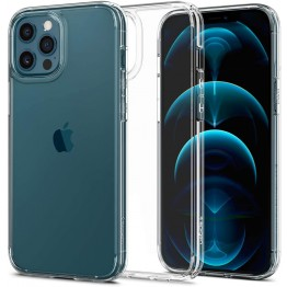 iPhone 12 PRO MAX Coque Spigen ULTRAHYBRID Transparent